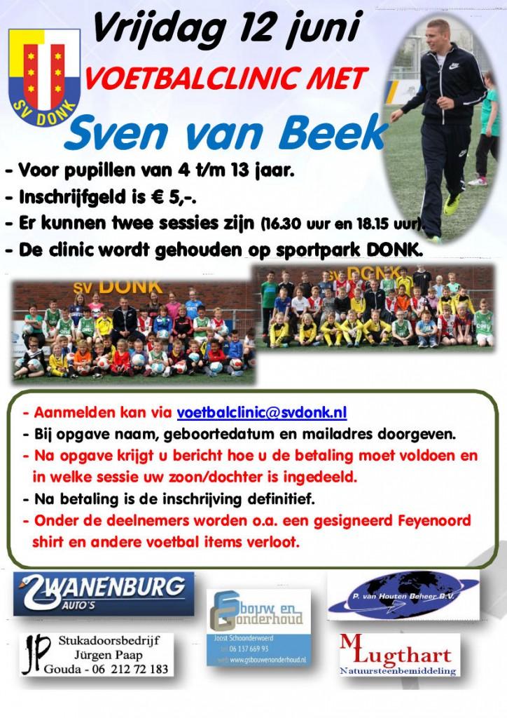 Affiche Voetbalclinic 2015b